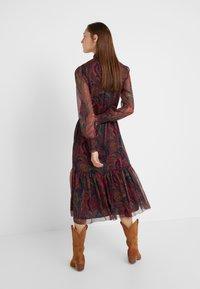 Lauren Ralph Lauren - CRINKLE DRESS - Vestido informal - navy/multi - 2