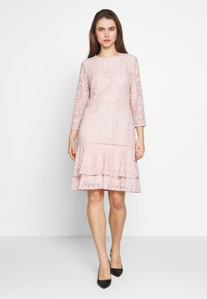 CHINE DRESS TRIM - Korte jurk - pink macaron
