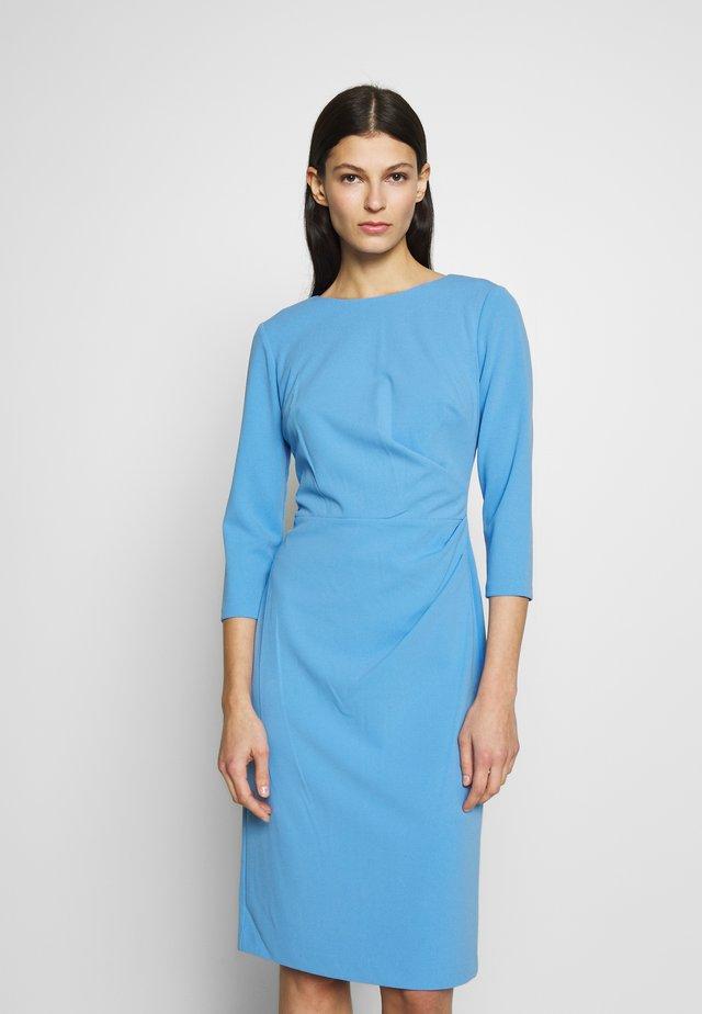 LUXE TECH DRESS - Jerseyjurk - blue