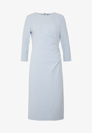 LUXE TECH DRESS - Jersey dress - toile blue