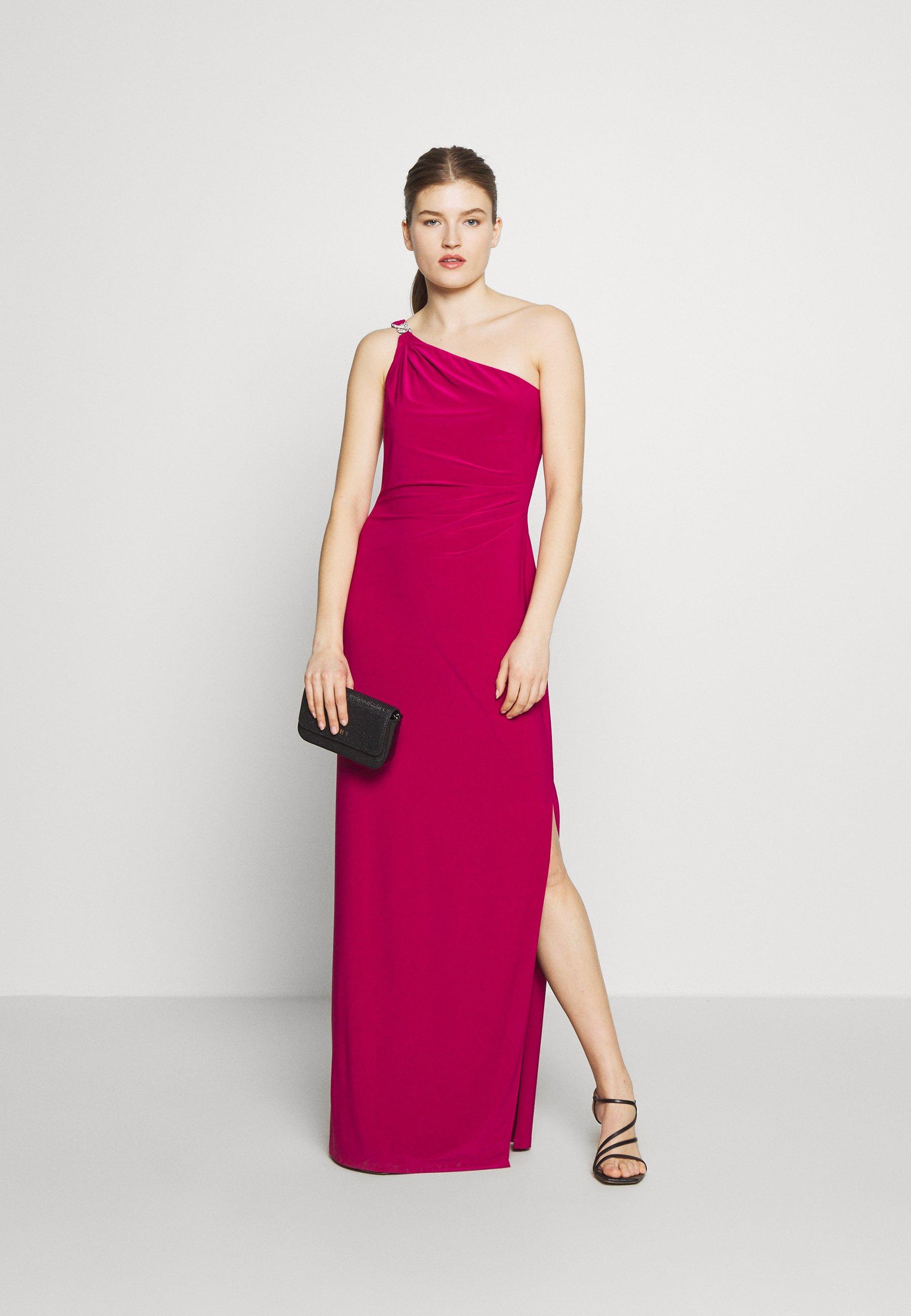 Lauren Ralph Lauren CLASSIC LONG GOWN - Suknia balowa - bright fuchsia