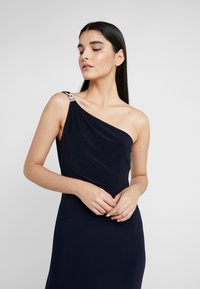Lauren Ralph Lauren - CLASSIC LONG GOWN - Galajurk - lighthouse navy - 3