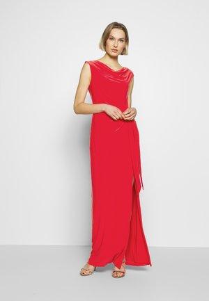 CLASSIC LONG GOWN TRIM - Maxi dress - watermelon