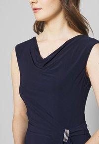 Lauren Ralph Lauren - CLASSIC LONG GOWN TRIM - Długa sukienka - lighthouse navy - 4