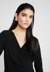 Lauren Ralph Lauren - MID WEIGHT DRESS - Vestido ligero - black - 3