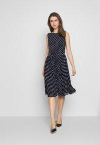 Lauren Ralph Lauren - MATTE DRESS - Vestido informal - navy - 1