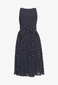 Lauren Ralph Lauren - MATTE DRESS - Vestido informal - navy - 4