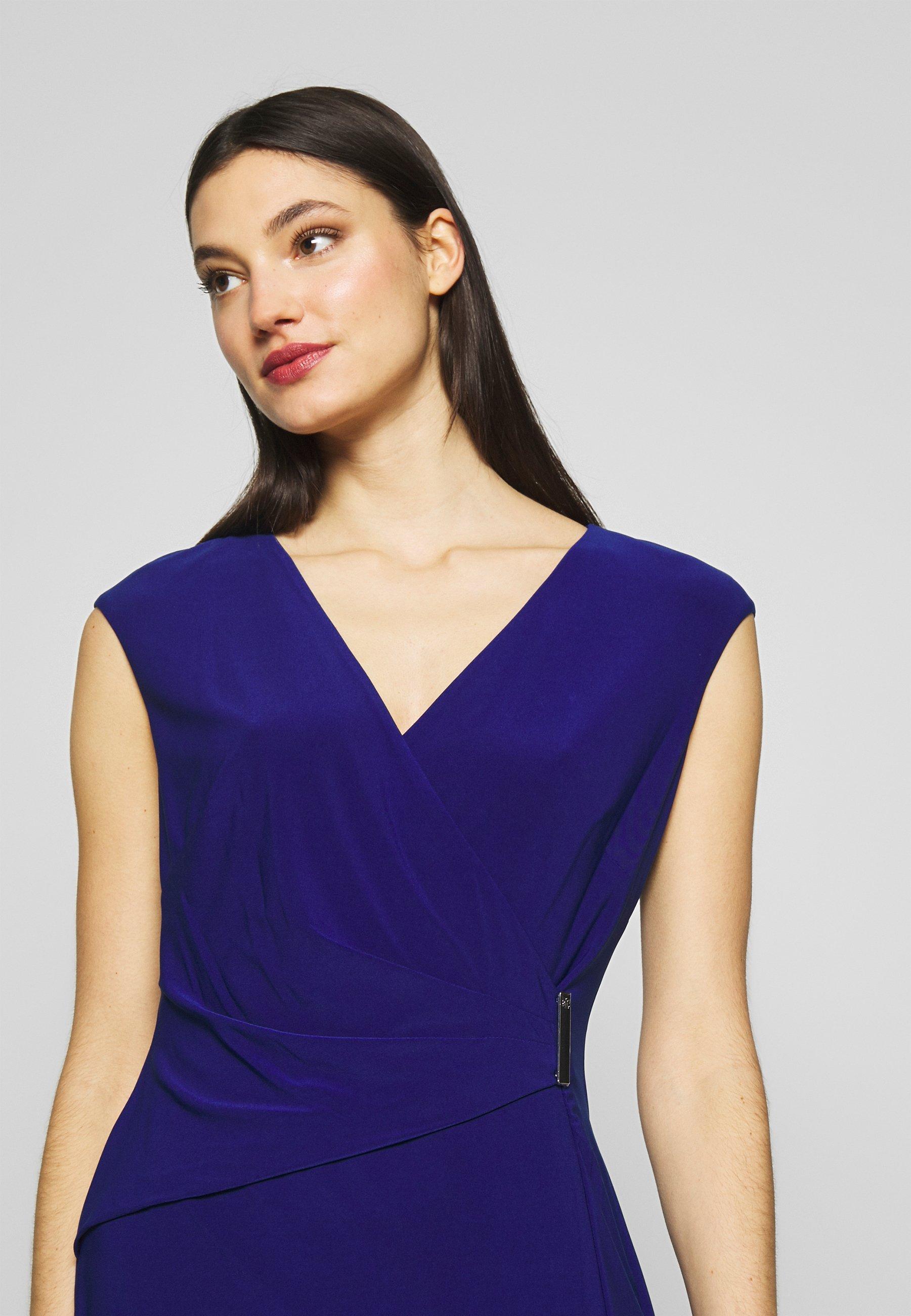Lauren Ralph Lauren CLASSIC DRESS - Sukienka etui - parisian blue