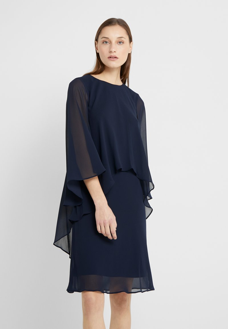 Lauren Ralph Lauren - CLASSIC DRESS - Koktejlové šaty / šaty na párty - lighthouse navy