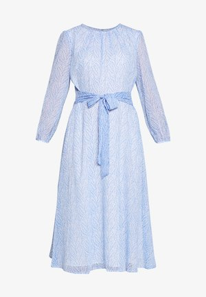 Robe d'été - light blue/off-white