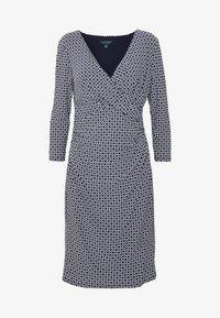 Lauren Ralph Lauren - PRINTED MATTE DRESS - Day dress - lighthouse navy - 4