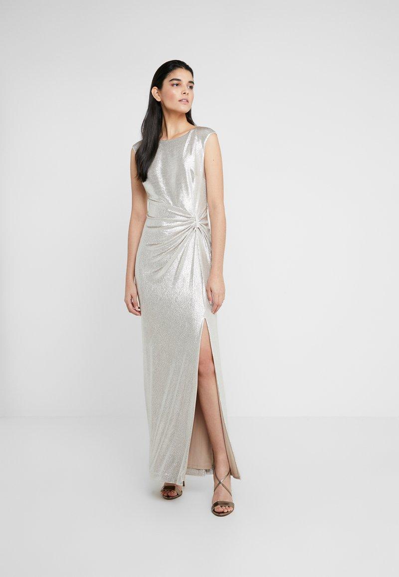 Lauren Ralph Lauren - Suknia balowa - champagne/silver