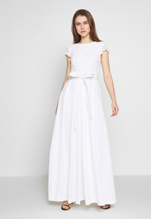 FAILLE LONG GOWN COMBO - Occasion wear - cream
