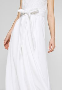 Lauren Ralph Lauren - FAILLE LONG GOWN COMBO - Occasion wear - cream - 3