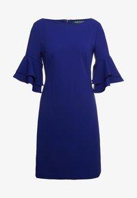 Lauren Ralph Lauren - LUXE TECH DRESS - Jerseyjurk - cannes blue - 4