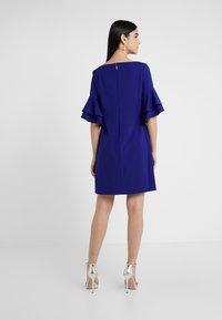 Lauren Ralph Lauren - LUXE TECH DRESS - Jerseyjurk - cannes blue - 2