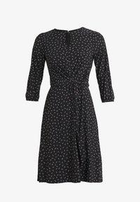 Lauren Ralph Lauren - PRINTED MATTE  - Jerseyklänning - black/parlor red - 3