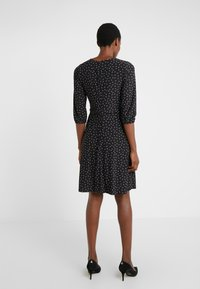 Lauren Ralph Lauren - PRINTED MATTE  - Jerseyklänning - black/parlor red - 2