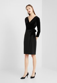 Lauren Ralph Lauren - CLASSIC DRESS COMBO - Tubino - black - 1