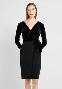 Lauren Ralph Lauren - CLASSIC DRESS COMBO - Tubino - black - 0