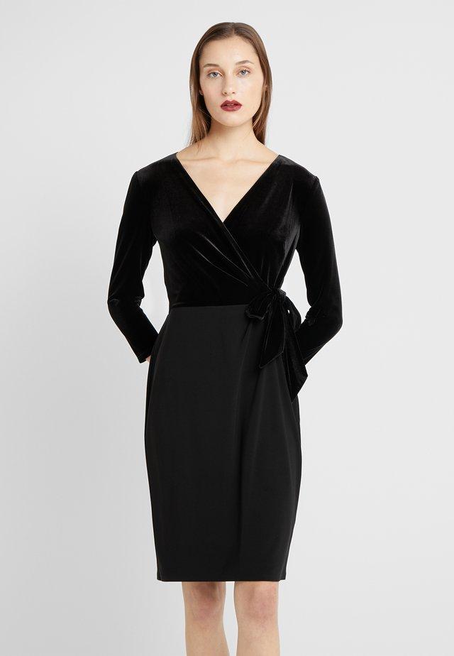CLASSIC DRESS COMBO - Sukienka etui - black