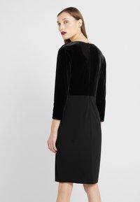 Lauren Ralph Lauren - CLASSIC DRESS COMBO - Tubino - black - 2