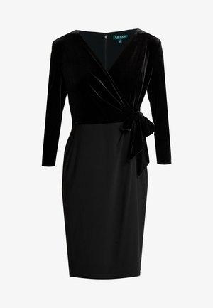 CLASSIC DRESS COMBO - Etui-jurk - black
