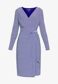 Lauren Ralph Lauren - MATTE DRESS - Vardagsklänning - parisian blue - 4