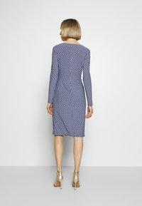Lauren Ralph Lauren - MATTE DRESS - Vardagsklänning - parisian blue - 2