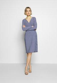 Lauren Ralph Lauren - MATTE DRESS - Vardagsklänning - parisian blue - 1