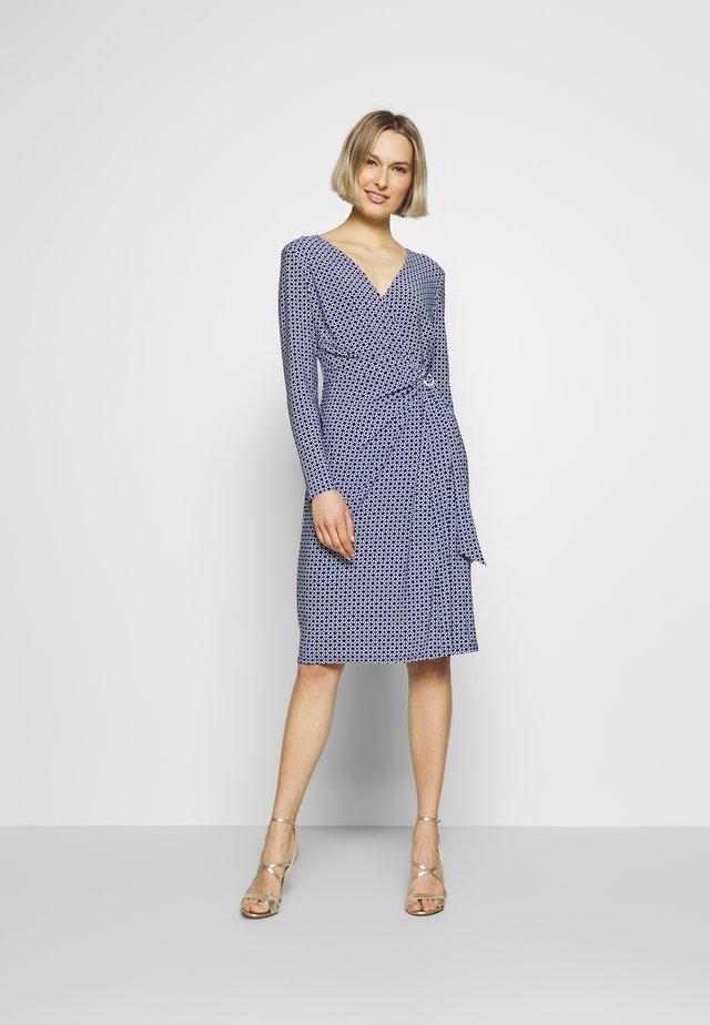 MATTE DRESS - Day dress - parisian blue