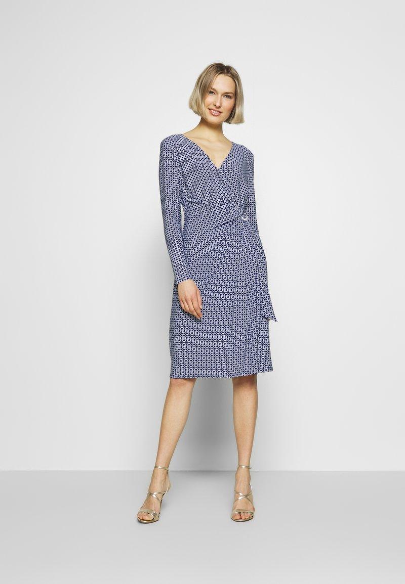 Lauren Ralph Lauren - MATTE DRESS - Vardagsklänning - parisian blue