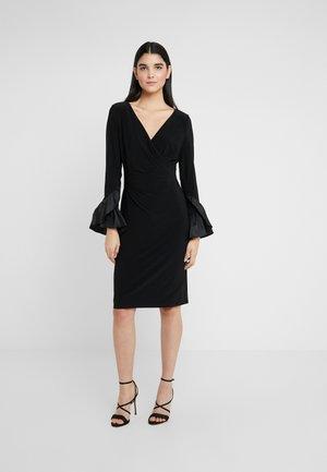 CLASSIC DRESS COMBO - Vestito di maglina - black
