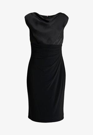 MID WEIGHT DRESS COMBO - Etui-jurk - black