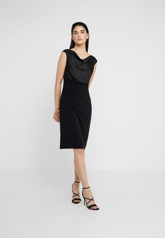 MID WEIGHT DRESS COMBO - Vestido de tubo - black