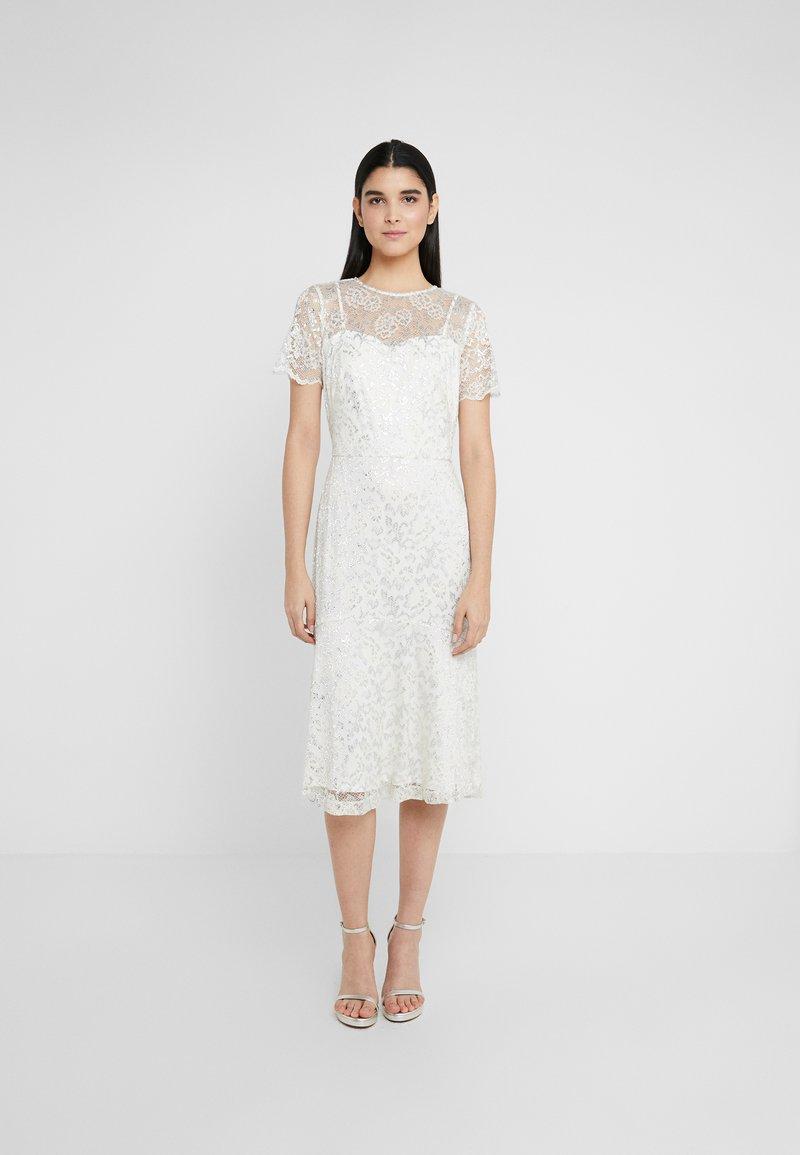 Lauren Ralph Lauren - Koktejlové šaty/ šaty na párty - mascarpone cream