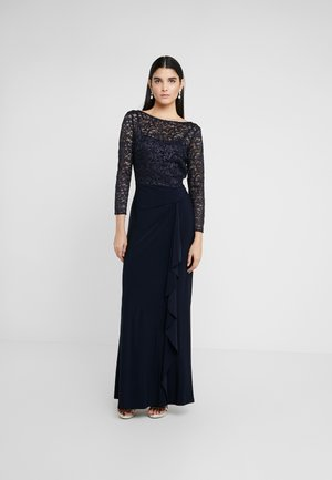 CLASSIC LONG GOWN COMBO - Vestido de fiesta - lighthouse navy