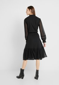 Lauren Ralph Lauren - SWISS DOT DRESS - Vapaa-ajan mekko - polo black - 2