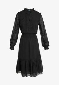 Lauren Ralph Lauren - SWISS DOT DRESS - Vapaa-ajan mekko - polo black - 5