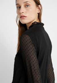 Lauren Ralph Lauren - SWISS DOT DRESS - Vapaa-ajan mekko - polo black - 6