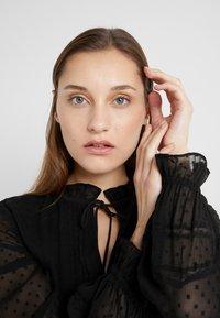 Lauren Ralph Lauren - SWISS DOT DRESS - Vapaa-ajan mekko - polo black - 4