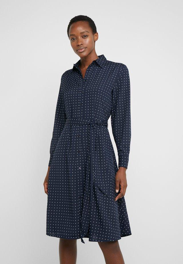 DRESS - Shirt dress - navy