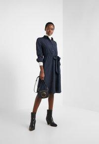 Lauren Ralph Lauren - DRESS - Robe chemise - navy - 1