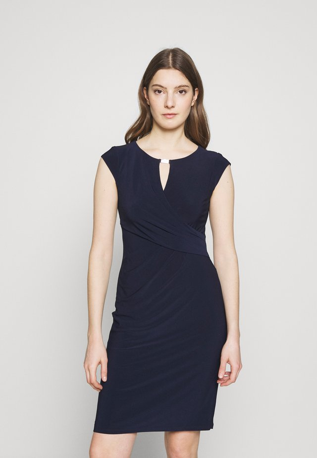 MID WEIGHT DRESS - Kotelomekko - lighthouse navy