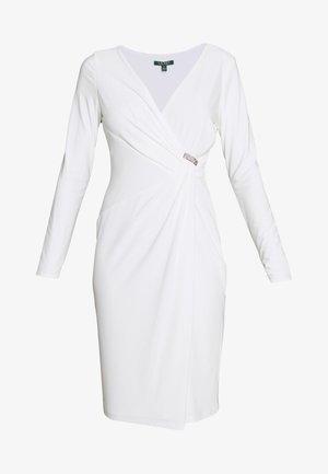 CLASSIC DRESS TRIM - Vestido ligero - lauren white