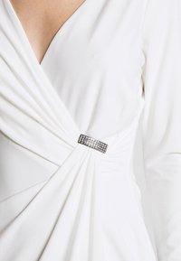 Lauren Ralph Lauren - CLASSIC DRESS TRIM - Jersey dress - lauren white - 5