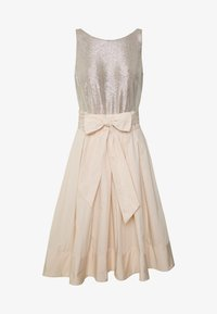 Lauren Ralph Lauren - MEMORY TAFFETA DRESS COMBO - Cocktail dress / Party dress - cashew/champagne - 4