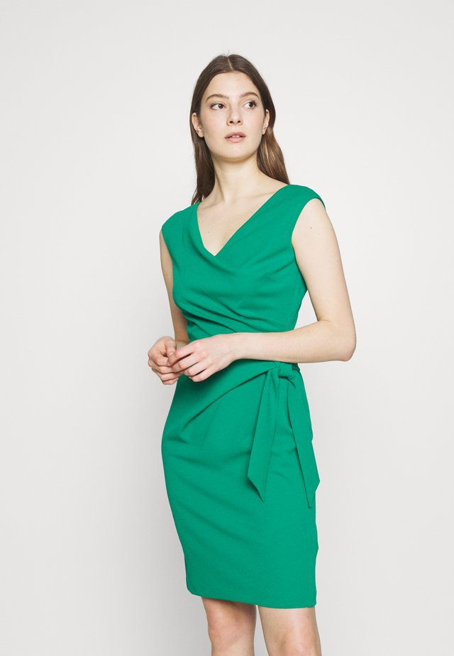 LUXE TECH DRESS - Etuikleid - malachite