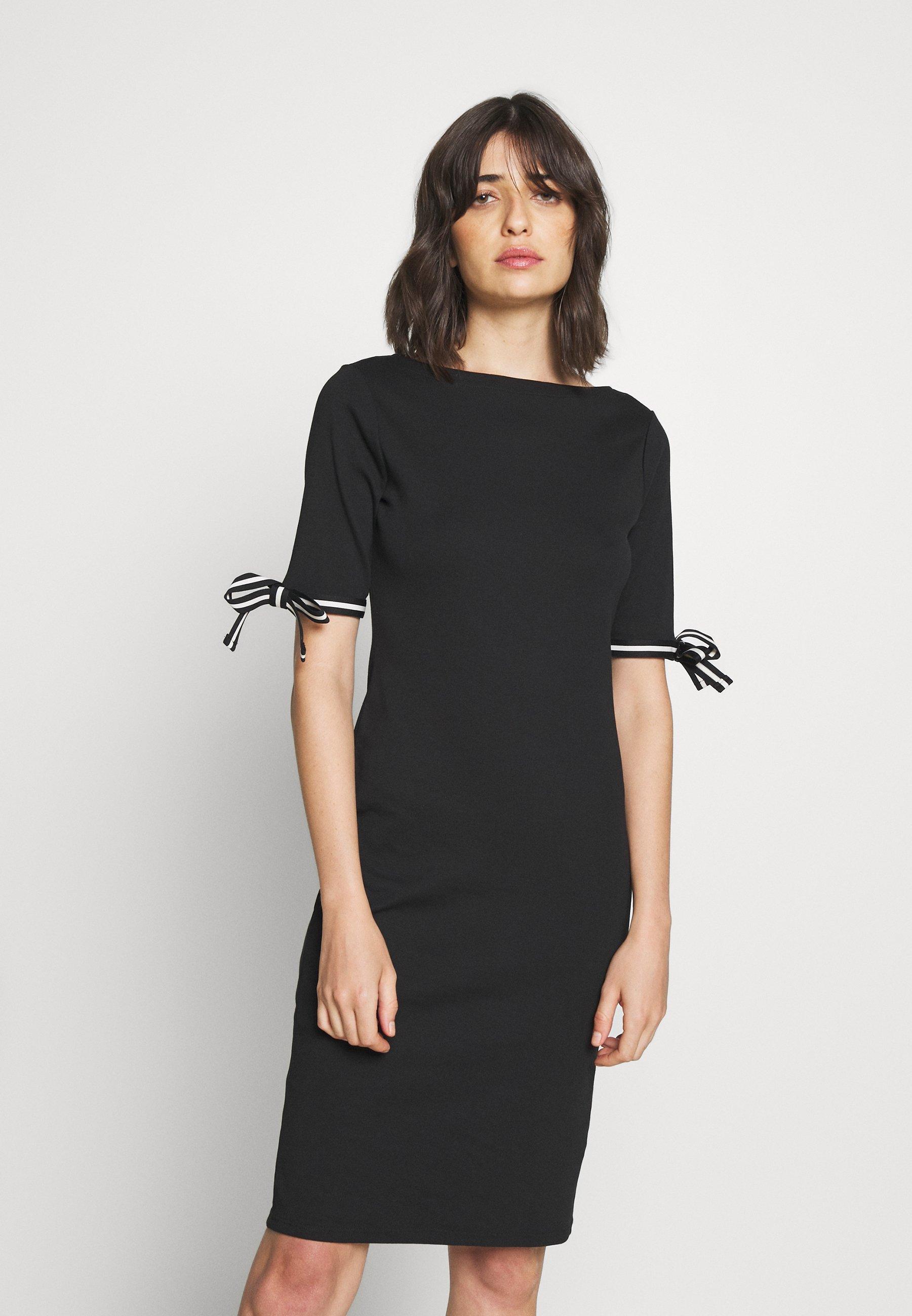 Lauren Ralph Lauren CLASSIC - Sukienka dzianinowa - black