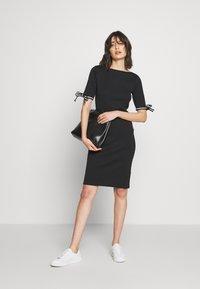 Lauren Ralph Lauren - CLASSIC - Jumper dress - black - 1
